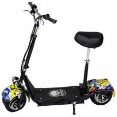 CityRoad 900W / 48V / 12aH / Lítio Preto / Grand-Scooter de Hip-Hop
