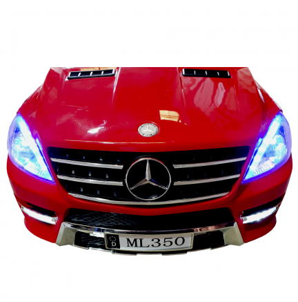 Mercedes Benz ML350 Electric Child Car (Licenza ufficiale) Rosso